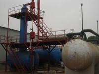 ISO Industrial lube base oil recycling plant