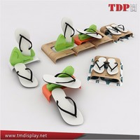 Manufacture Creative Shoes Display Stand For Slipper