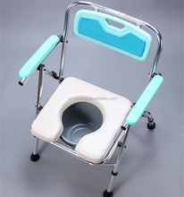 elderly care products folding elderly shower chair bath seat with commode