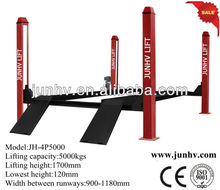 5.0T Four post elevadores hidraulicos lift With CE