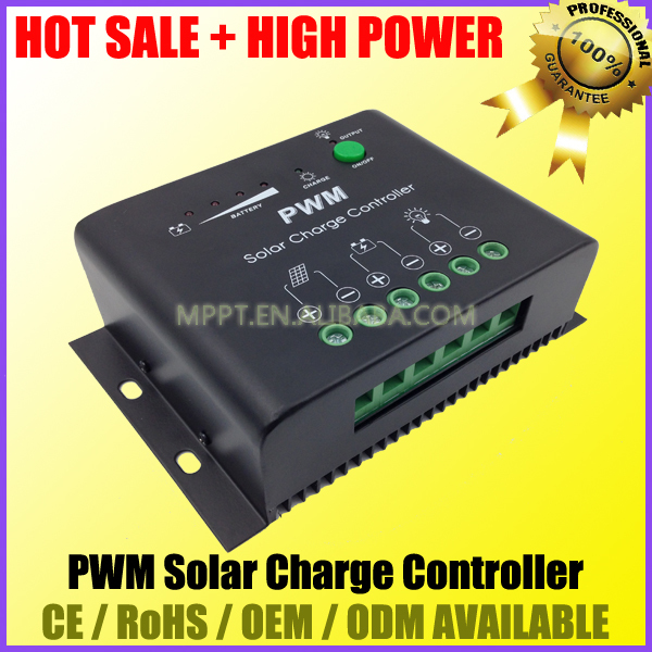 PWM Solar Charge Controller / Voltage Regulator 12V 24V 50A 60A KT1250 KT1260