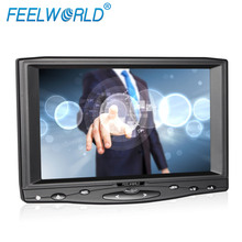manufacturing selling tft led VGA+USB Cable resistive touchscreen 7 inch headrest monitor for car automation industrial display