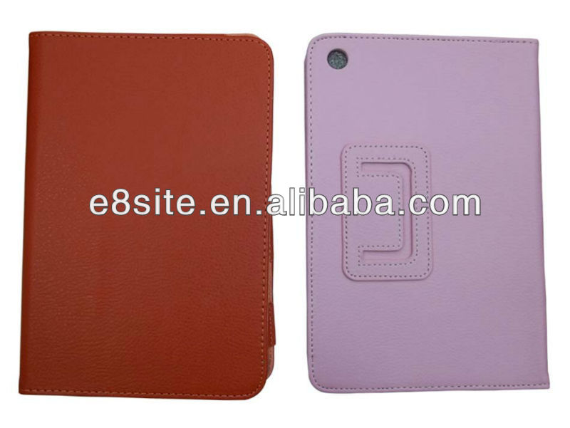 For iPad Mini Smart Slim PU Leather Case