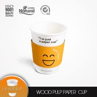 Popular hot sale manufacturer 8oz 12oz custom PE coating disposable cup paper coffee cup paper cup