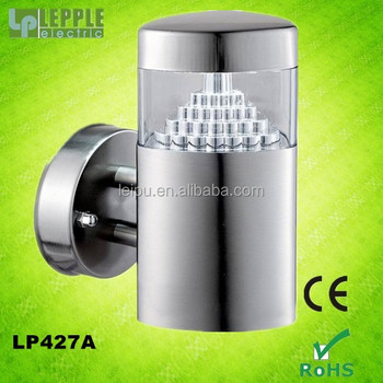 high quality stainless steel outdoor LED garden wall lamp