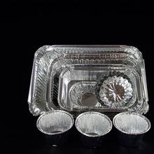 Disposable Microwave Oven Aluminum Foil Container With Lid