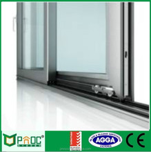 PNOC Factory Provide Powder Coated Profile Aluminium Lift And Sliding Door With Double Glass