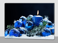 Christmas blue ball led pictures
