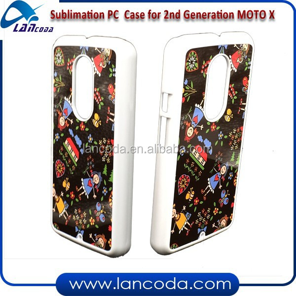 Christmas gift 2d sublimation phone case for new 2nd generation Motorola MOTO X2 mobile phone cover