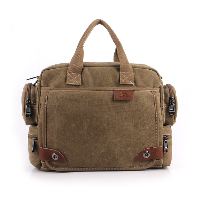 Mens Vintage School Shoulder Bag Canvas Messenger Bags Wholesale