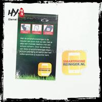 Professional Mobile Phone Screen Wipe Stickers, screen cleaning pad cleaner, Sticky Phone Cleaner In Any Shapes