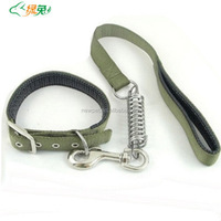 Excellent quality fashionable best nylon dog necklace dog leash dog collar sliders