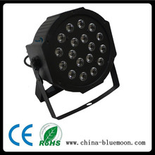 3W*18pcs LED Flat Par Can Mini Stage Lighting
