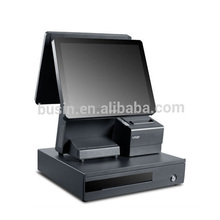 15 inch touch EPOS, All-in-one fanless POS system, Dual Core 1.86GHz, Special for Retail