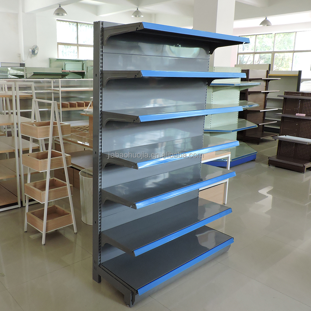 2017 newest design and quality assurance mini mart shelving system with factory's direct sale price