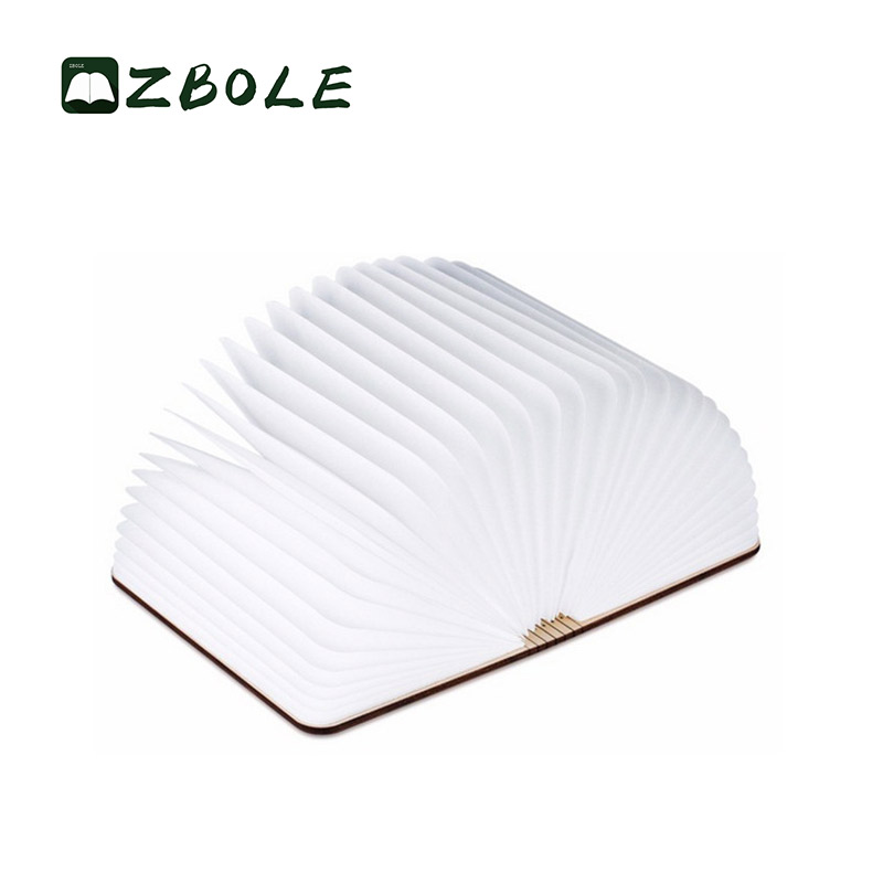 Exclusive Custom Gift Protecting Led Table Lamps / Usb Led Tyvek Book Light / Night Lamp