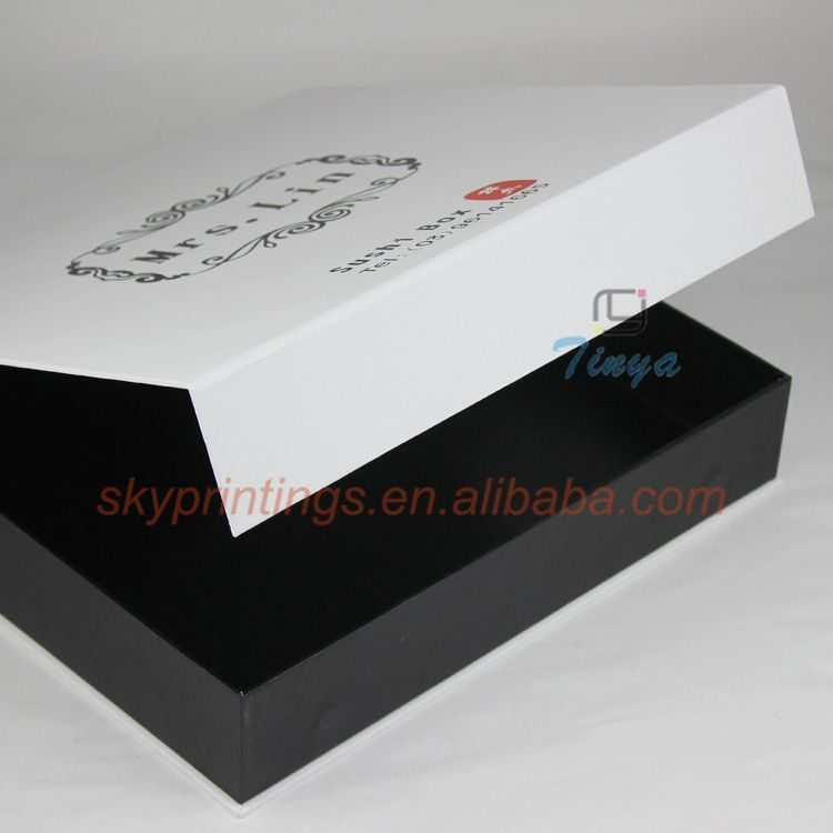 Book shaped food paper sushi to go box