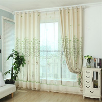 Best selling products tree polyester shower curtain