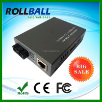 Big selling SC/ST/FC outside power 10/100M trendnet fiber media converter