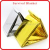 portable first aid aluminum foil blanket multi-purpose emergency thermal blanket