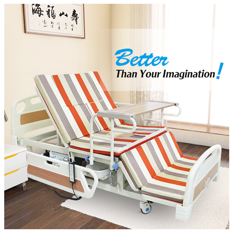Medical clinic nursing home bed furniture with head unit price