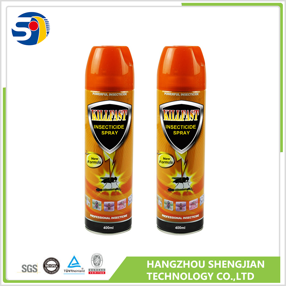Alcohol base spray water based aerosol insecticide manufactured in China