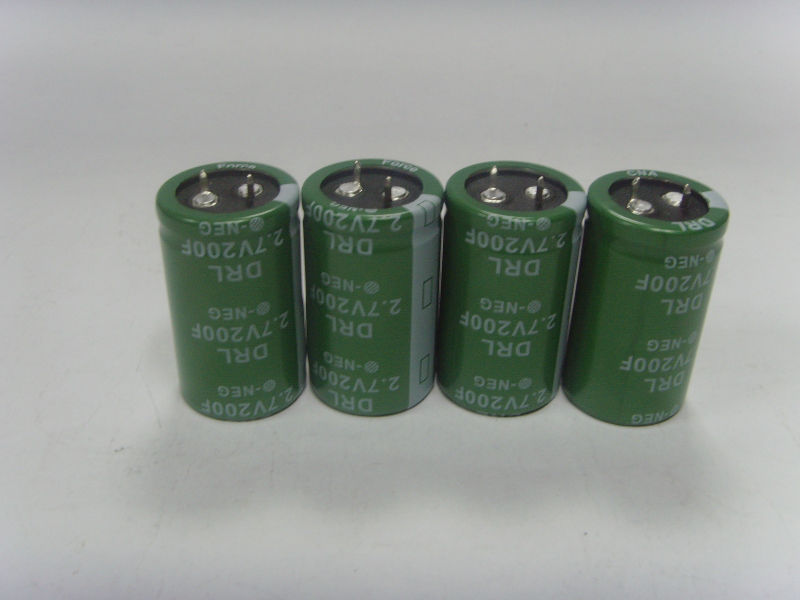 Nano Force ultra capacitor 2.7v200f super capacitor 2.7v200f electronics components