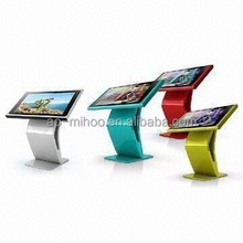 Multi Touch LCD Advertising Player, Soft Key return click touch Stand floor AD display