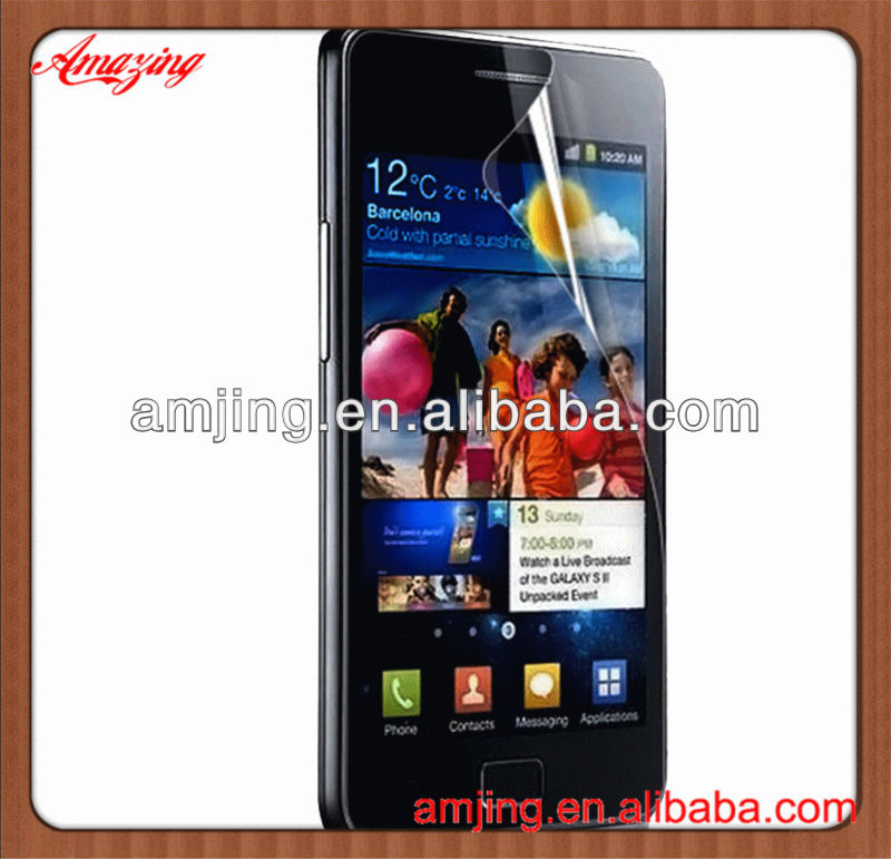 Best price for samsung galaxy s2 i9100 clear screen protector