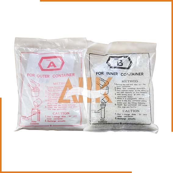 Refills AB Type for Chemical Foam Fire Extinguishers