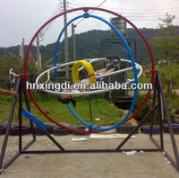 hot sale motion simulator human gyroscope ride---space ring