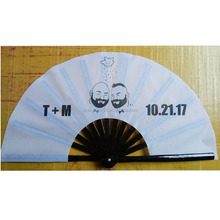 13inch spanish craft decorative large hand folding fans wholesale