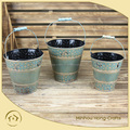 beach buckets and pails Printed garden pails antique buckets