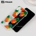 Pinjun Factory Customize Design Fresh Fruits UV Printing Case For iPhone 10,Blank Printed Phone Case For iPhone X TPU Case