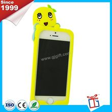 Colorful beatiful silicone case phone accessory for women