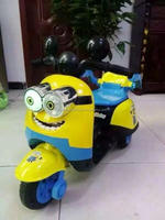 new model electric car for children, cute baby motorcycle, with music and light, one key start