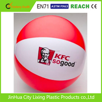 Top Quality Custom Colorful Inflatable Transparent Beach Ball