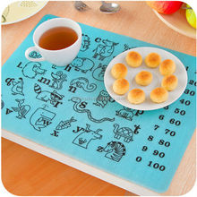 Promotional Gift New Design Silicone Kid Table Mat Baby Place Mat