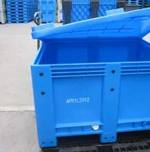 palstic closed pallet tank plastic storage box pallet for water and seaafood