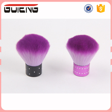 2017 Free Samples Mental Bottom Wholesales Cheap price Nail Cleaning Powder Brush