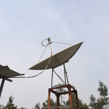 Outdoor Type parabolic antenna C band with CE&ROHS certificarte OEM&ODM supported