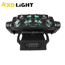 New Style 10 Watt 8 pcs white/rgbw Moving Head Led Beam/Led Spider dj disco bar Beam Moving Head Light