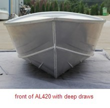 Good Cheaper Fishing Deep V hull aluminum boats for sale