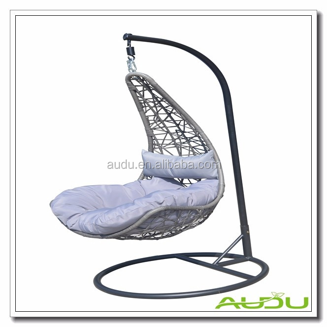 2017 powder coated steel cheap alibaba rattan hanging egg for Cheap hanging chairs