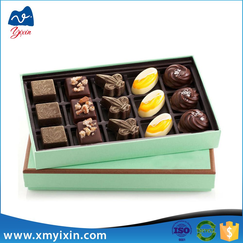 Premium Chocolate Gift Boxes : Selling fancy paper chocolate packaging premium gift box