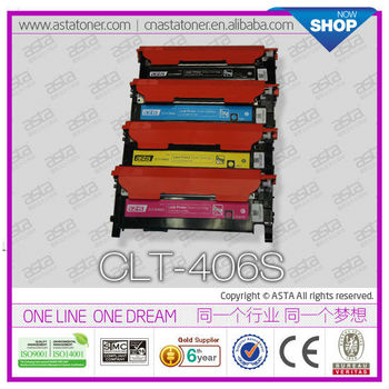 Compatible Color Toner Cartridge CLT406S For Samsung