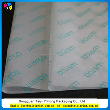 customized printed advertising tissue paper