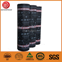 3mm Rubberized Bitumen Reinforced Waterproof Membrane for Roof and Basement