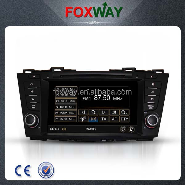 8 inch reversing camera car multimedia player with gps for Mazda 5
