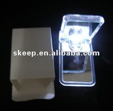 2012 new design 2012 NEW arrive Hot sale makeup cosmetic mirror led light